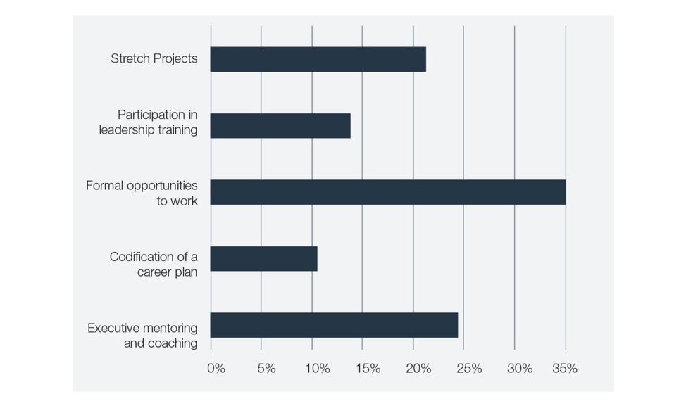 Figure 5: Webinar poll question: In terms of career development and advancement, what have you found to be the most helpful?